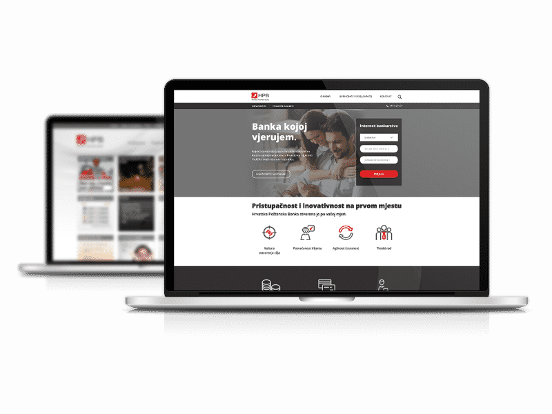 akcija case study hpb 2 Hrvatska poštanska banka   redizajn web stranice   koncept
