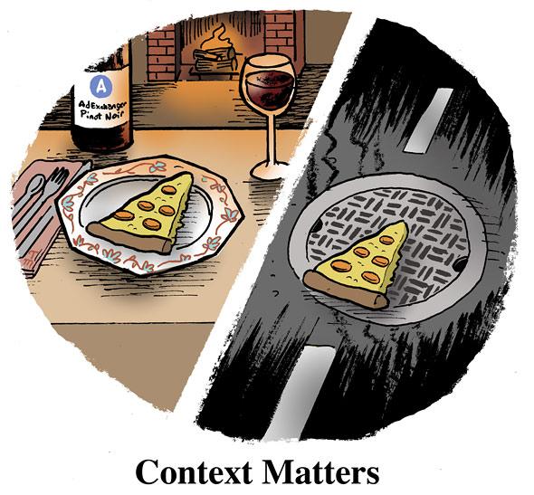 context matters Što reći, kakvu posluku porati   otkrit će marketing semiotika!