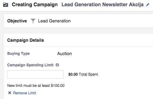facebook lead ads 2 Vodič kroz Facebook Lead Ads   nova funkcionalost unutar Facebook oglasa