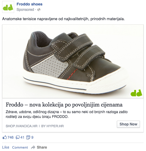 Froddo oglas