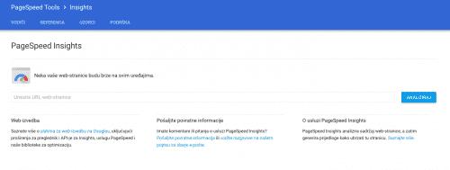 page speed insights 500x189 Korisni alati prilikom planiranja AdWords kampanje