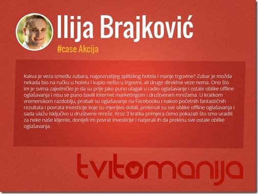 Tvitomanija Ilija Brajković