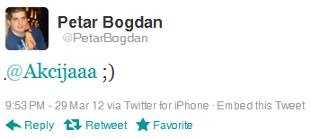 Twitter reply tocka